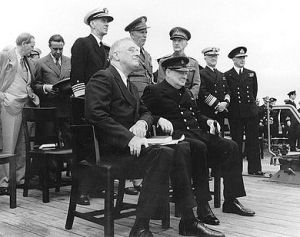 On HMS Prince of Wales