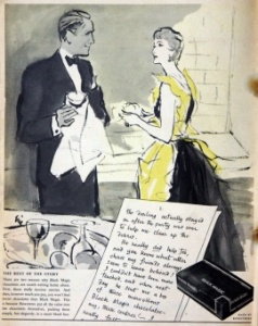 Black Magic introduced 1933. Advert December 1953.